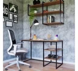 Título do anúncio: Escrivaninha e plateleira