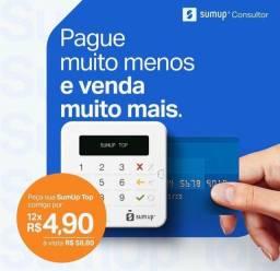 MAQUINETA SUMUP MENOR PREÇO DO BRASIL 29,99 pagseguro mercado paggo maquinha Maquineta