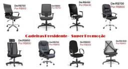 Título do anúncio: Cadeiras Presidentes-Super Promoção