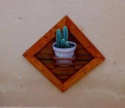 Título do anúncio: Jardim Vertical de Madeira com 1 Nicho