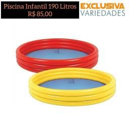 Piscina Inflável 190 Litros Brizi + Entrega Grátis