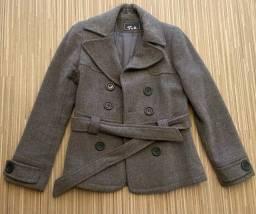 Jaqueta feminina em lã
