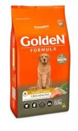 Promoção!! Ração Golden Fórmula para Cães Adultos Salmão e Arroz - 15Kg