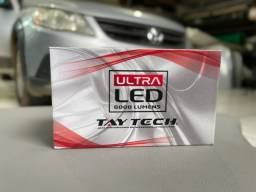 Título do anúncio: Led Tay Tech H4 6000 Lumens