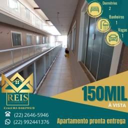 Título do anúncio: RI Apartamento beira mar à venda, por R$ 150.000 ? Barra de São João ? Casimiro de Ab/RJ