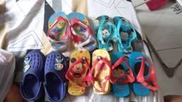 Sapatos sandálias 23 24 22