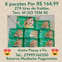 8 pacotes por R$164,99