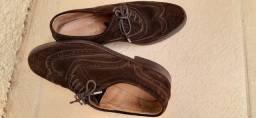 Sapato masculino de camurça tamanho 40