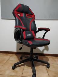 Título do anúncio: Cadeira Gamer Mx1 Giratória Preta/Vermelha - Mymax usada