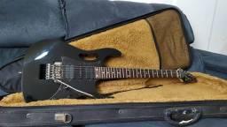 Guitarra Ibanez JEM JR Bk + Hard case Solid Sound