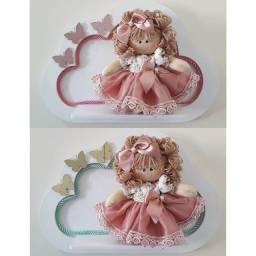 Porta maternidade bonecas de pano
