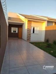 Casa com 2 dormitórios à venda, 61 m² por R$ 175.000 - Jardim Esplanada - Sarandi/PR