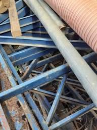 Título do anúncio: Estrutura Metalica para galpão (só tesouras e pilares)
