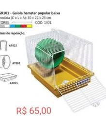 Título do anúncio: Muitas Gaiolas pra hamster
