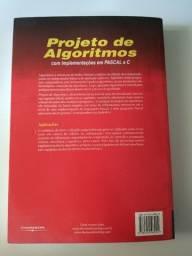 Título do anúncio: Livro Projeto de Algorítimos - Nivio Ziviane
