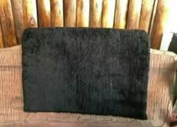 Pelego sintético novo preto