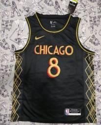Camisa do Chicago Bulls Qualidade Tailandesa