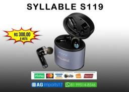 Syllable S119 - Fone de Ouvido Bluetooth 5.0