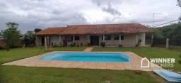 Chácara com 2 dormitórios à venda, 10000 m² por R$ 950.000,00 - Rural - Presidente Castelo