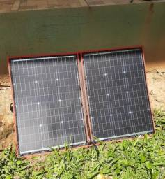 Título do anúncio: Painel Solar Dobrável/Flexivel 100W - Dokio