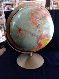 Antigo globo terrestre Made um USA