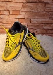 Título do anúncio: Tênis Mizuno Wave Amarelo