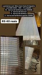 Título do anúncio: DE 2000 mil POR 40 reais cada. Luminária Led  90cm P/Aquário  Led SMD 5050 - 18W