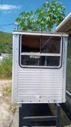 Cachorreira  para caminhão , cabine auxiliar