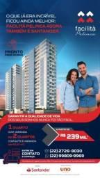 Título do anúncio: Apartamentos novos na Pelinca a partir de R$ 239.000!!!!