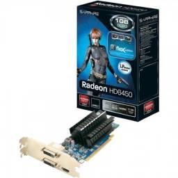 Título do anúncio: Placa De Video Hd 6450 Sapphire Flex Cpu Desktop