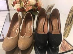 Sapatos Vizzano tamanho 33