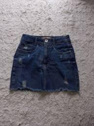 Título do anúncio: Saia Jeans