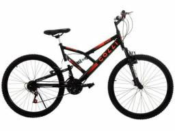 Bicicleta Colli Bike GPS Pro Aro 26 21 Marchas - Dupla Suspensão Freio V-brake<br><br>