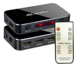 Switch Seletor HDMI 2.0 4K HDR 4x1