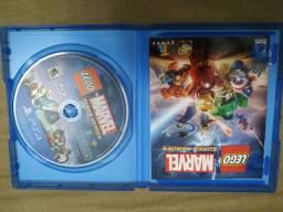 Título do anúncio: Jogo PS4 Lego Marvel super Heroes mídia física