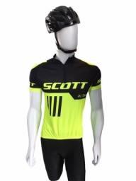 Camisa masculina de ciclismo Scott