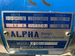 Título do anúncio: Máquina De Corte Alpha 550W, 4.4 A - 220v