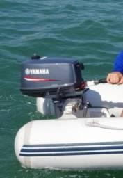 Título do anúncio: Motor popa Yamaha 4 hp