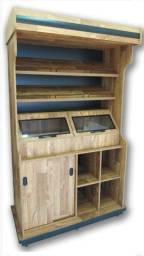 Instalação comercial para padaria e mercearia