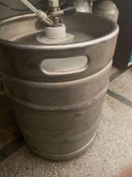 Casco de barril de chopp