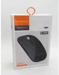 Mouse Sem Fio Wirelles 2.4g Hmaston E-1400 Recarregável