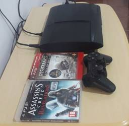 Título do anúncio: PS3 SUPER SLIM 250GB PERFEITO