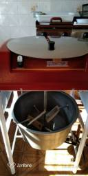 cilindro, chapa lanche, misturador batedor massa