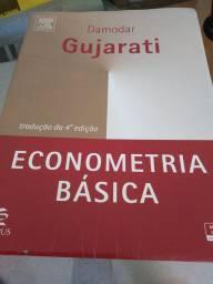 Título do anúncio: Livro econometria básica - Gujarati 4 ed