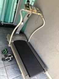 Esteira athletic reclinável/manualmente