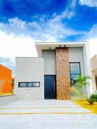 Casa com 3 dormitórios à venda, 114 m² por R$ 625.000,00 - Condomínio Jardim Toscana - Ind