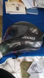 Capacete Axxis novo
