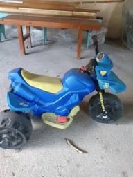 Moto Eletrica Infantil Mini Motinho Triciclo Bateria Criança