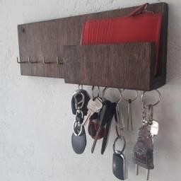Porta Chave magnético de madeira entregamos grátis em buzios