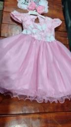 Lindo vestido tamanho 1ano
